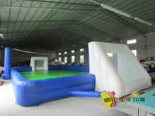 Creative Inflatable Football And Volleyball Court