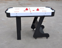 Foldable 5 Foot Air Hockey Table Air Hockey with Folding Legs Accessory Included