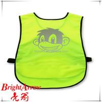 Animal Printing EN20471 Hi-vis Children Safety Vest