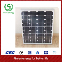 High quality 80w TUV/CE/IEC/MCS Approved Mono Crystalline Solar Panel,Home Solar Panel System Use,Solar Power System Use