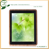Factory wholesale solid wood skin case for ipad 4, nature best price case for ipad