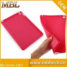 Soft blank TPU back case for ipad 6