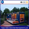 Affordable modern one bedroom prefab house/prefabricated steel container home for sale
