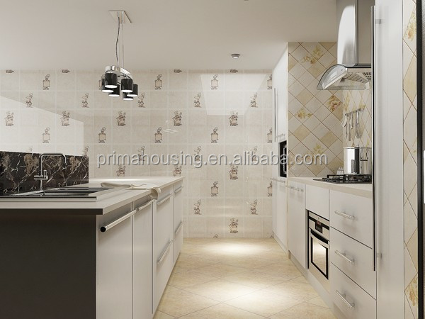 Moderne massief houten keuken kast ontwerp voor groene villa ...