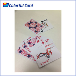 2015 New custom Size Standard Paper playing card