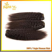Unprocessed 100% Human Hair Jumbo Braids Silky Perm Yaki Weave Wavy Hair