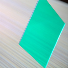 china polycarbonate manufacturers only use virgin material clear solid polycarbonate roofing sheet
