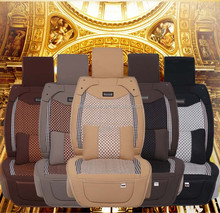 Superior quality four seasons Oxford leather 5 seats universal car seat cover
