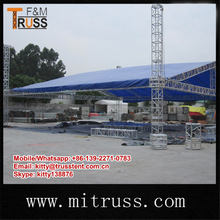Easy To Assemble Modular Aluminum Stage Designed For Displays, Concerts