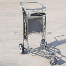 Customized Trolley shopping cart luggage cart with strong frame and stable structure