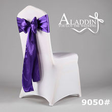 Satin Sash for wedding/High Quality/chair bow/Professional factory produce