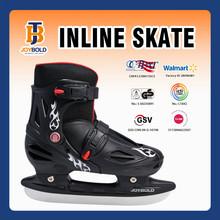 New Design Inline Racing Skate, Quad Skate Shoes For Men Black 3 Sizes JB1310 EN7 Approved