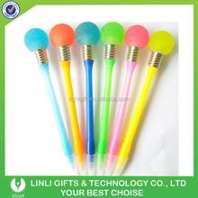 Plastic Led Bulb Ballpoint Pen