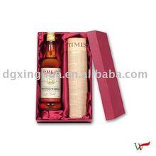 2012 newly cardboard wine box packaging