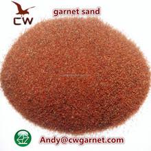 China rock garnet sand/India river garnet sand