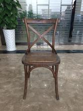 Australian popular design Colourful Rental Wedding Cross X Back Chair event chair banquet chair