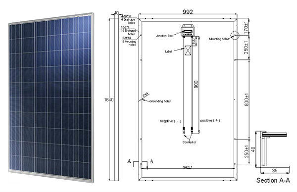 New product Paneles Solares Solar Energy 250W Solar Panel home solar systems