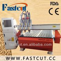 China Jinan wood engraving machine bed milling machine FASTCUT-1325