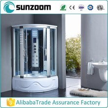 China wholesale SUNZOOM Round shower cabin for corner, steam shower, shower steam room