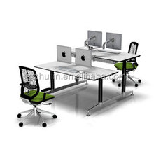 Sturdy height adjustable working table