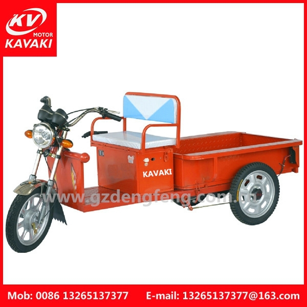 Three wheel electric adult trike
