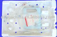 Hemocyte apheresis set for single use