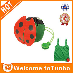 New products 2015 innovative product eco shopper fashion ladybug bag shopping bag