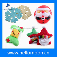 2015 Lastest Design Factory Direct Wholesale Christmas Dog Toys