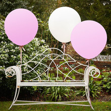 White and Pink Color Balloons for Wedding Decoration PPD001