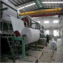 New condition tissue paper making machine/toilet roll paper production line