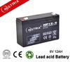 Matrix 6V 12Ah SLA Battery for industry and Security system