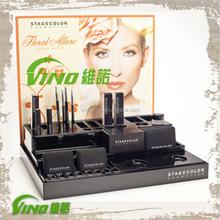 Custom Logo Acrylic Lucite make up display stand display for make up