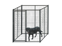 Factory Wholesale Stainless Steel large Dog Cage outdoor dog kennels