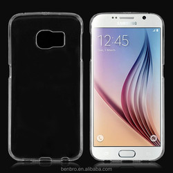 Hot Selling Wholesale China Slim Transparnet New Crystal Clear Hard Back Case for Samsung Galaxy S6 Edge