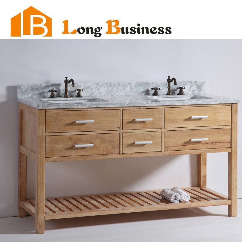 Lb Dd2110 New Design Australia Oak Solid Wood Double Sink Bathroom Vanities Buy Modern