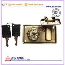 Solid Brass Luggage TSA Lock with keys