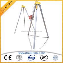 Portable Lightweight Rescue Tripod Cranes