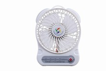 Portable lithium battery operated mini usb charging fan, with 3 gears super wind low noise