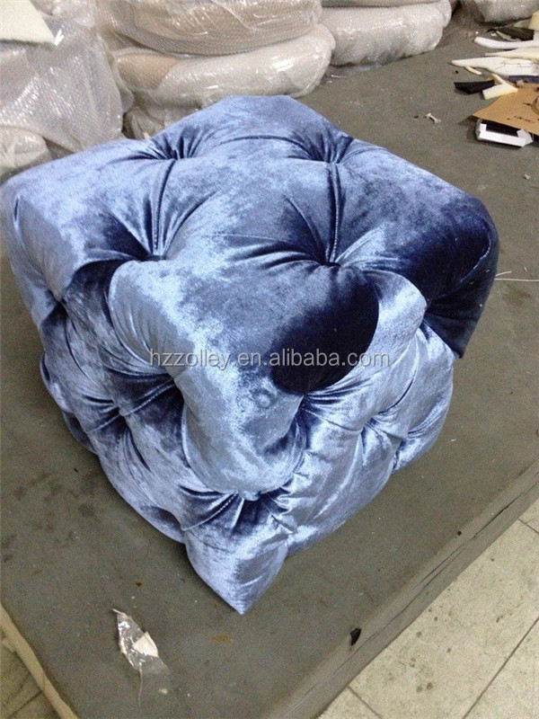 italiaanse nieuwe ontwerp groothandel stof nachtkastje knop uft