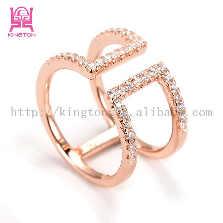 925 sterling silver 14k gold plated rings jewelry for Wholesale 14k gold jewelry distributors