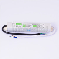 12V 2.1A 25W IP67 Waterproof LED Power Supply Electronic Driver Transformer For LED Light Strip Switch AC to DC 110V-260V