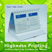 2015 Hot Sale Calendar With Memo Pad