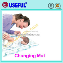 In box set non-woven Wholesale diaper changing mats Disposable Baby Mat