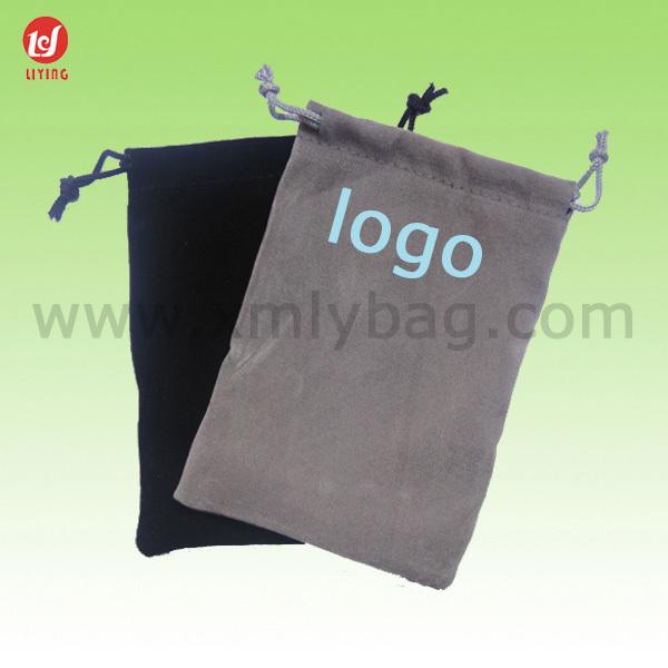 New Style Many Colors Drawstring Velvet Gift Bag