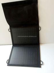 Foldable solar rechargeable bag
