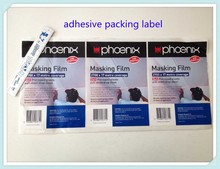 adhesive product packing product description label