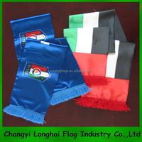footbal fan natioanl country flag scarf
