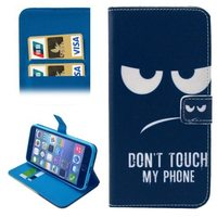 Folio Flip Magnetic Wallet Leather Case for iPhone 6 with Card Slots