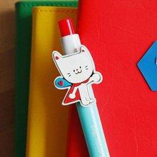 Korean Character Design Stationary Let's go mikcat Ball Pen