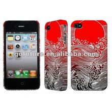 Chinese art wholesale cell phone cover for iphone 4s